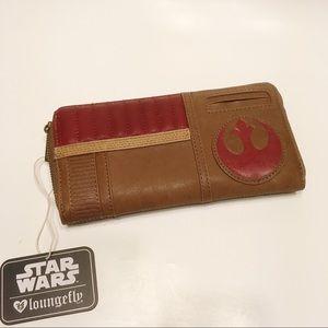 Loungefly Star Wars Last Jedi Finn Wallet